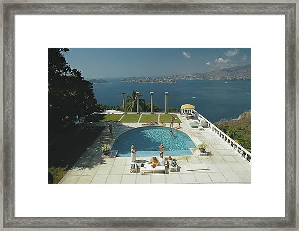Nirvana Framed Print by Slim Aarons