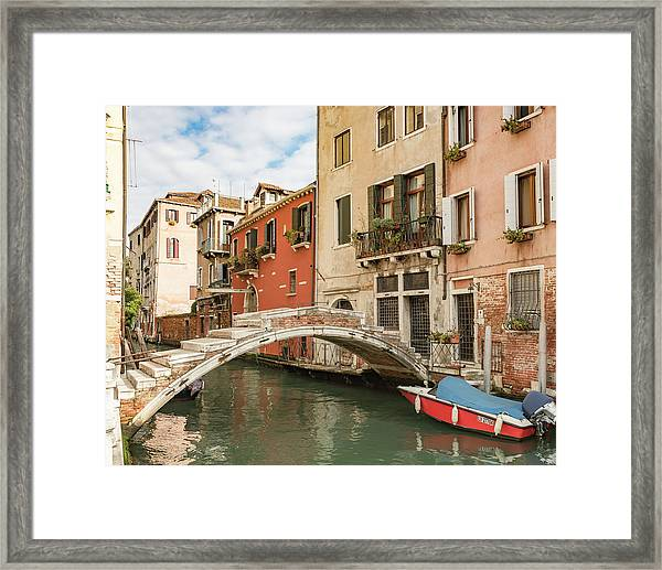 No Motors Framed Print