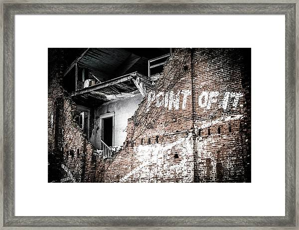 No Return Framed Print