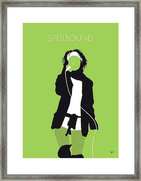 No296 My Siouxsie And The Banshees Minimal Music Poster Framed Print