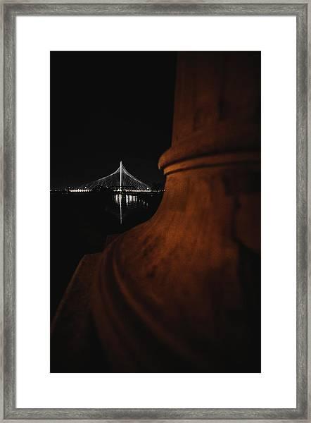 Noir Dallas Framed Print