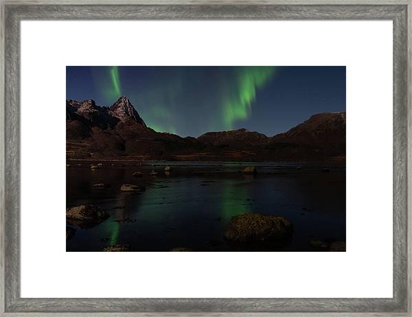 Norlys Framed Print
