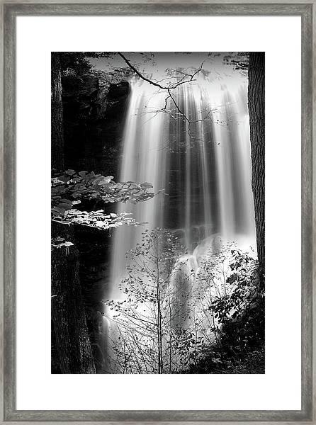 North Carolina Falls Framed Print