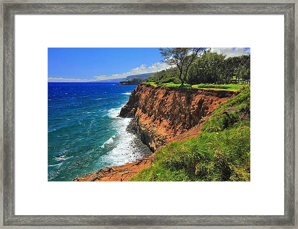 North Hawaii View Framed Print
