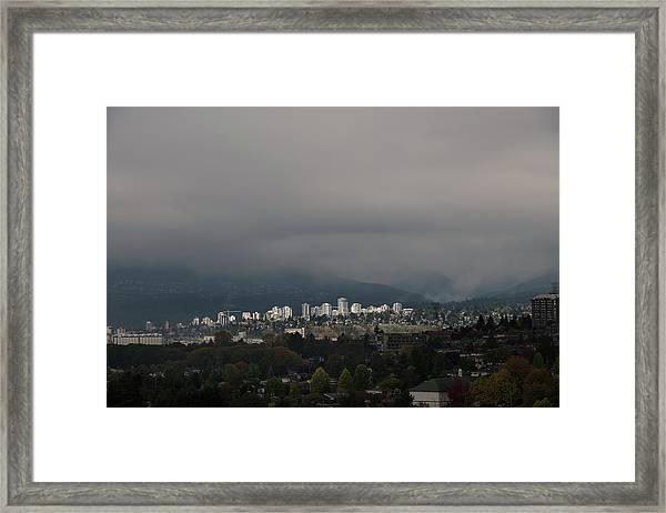 North Vancouver Framed Print
