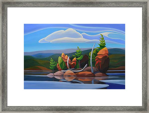 Northern Island II Framed Print
