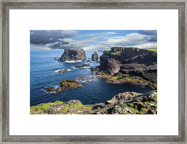 Northmavine Coast, Shetland Isles Framed Print