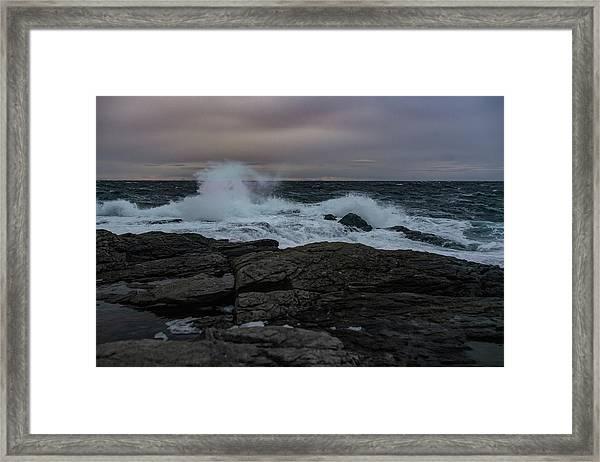 Norwegian Wild Waters Framed Print