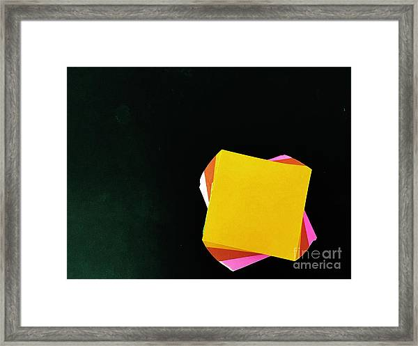 Note Worthy Framed Print