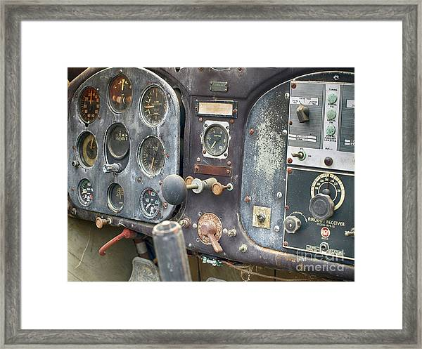 Nothing Passenger About This Plane  Framed Print by Steven Digman