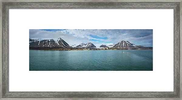 Ny Alesund Framed Print