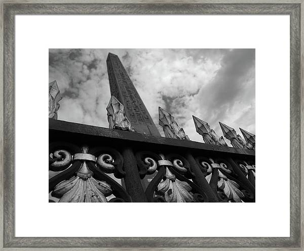 Obelisk Two Framed Print