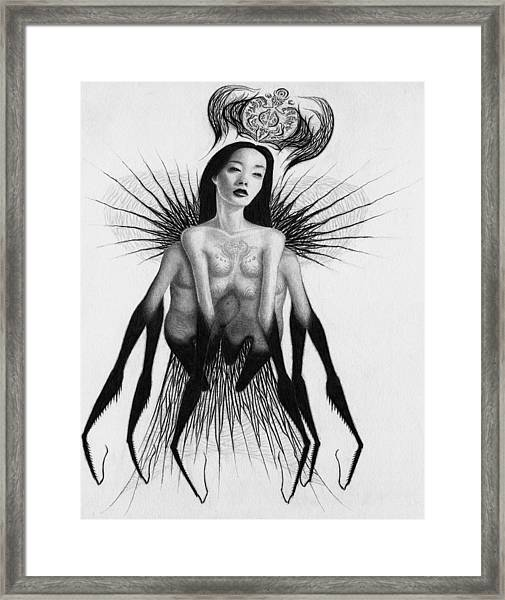 Oblivion Queen - Artwork Framed Print