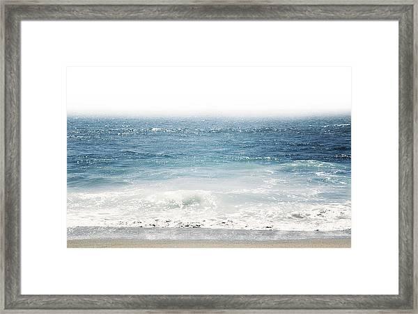 Ocean Dreams- Art By Linda Woods Framed Print