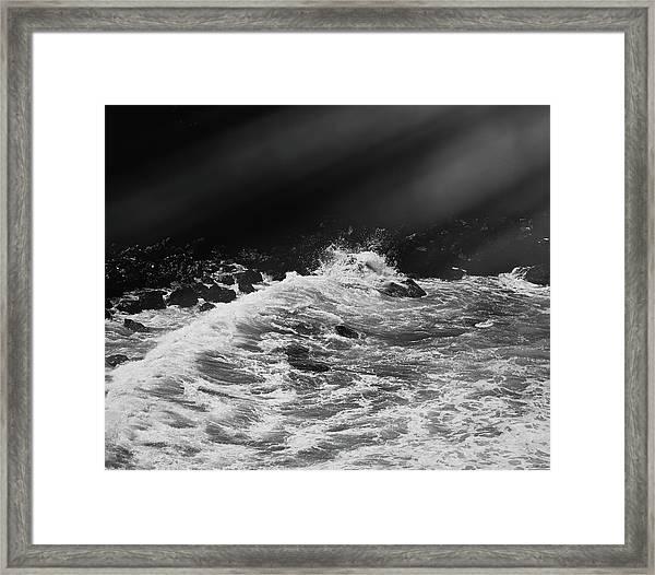 Ocean Memories Iv Framed Print