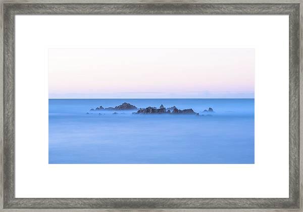 Ocean Peaks Framed Print