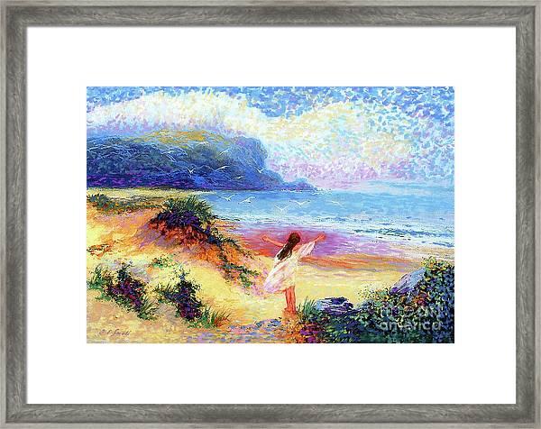 Ocean Song Framed Print