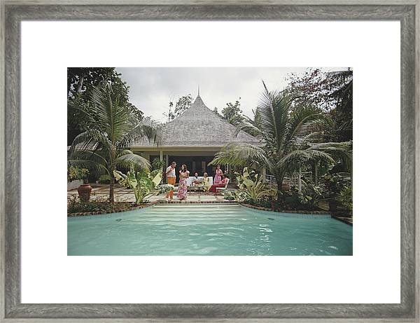 Ocho Rios, Jamaica Framed Print