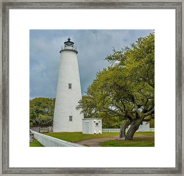 Ocracoke Lighthouse No 2 Framed Print