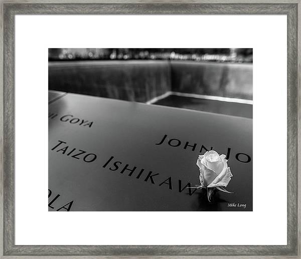 October 14th Framed Print