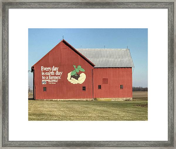 Ohio Barn  Framed Print