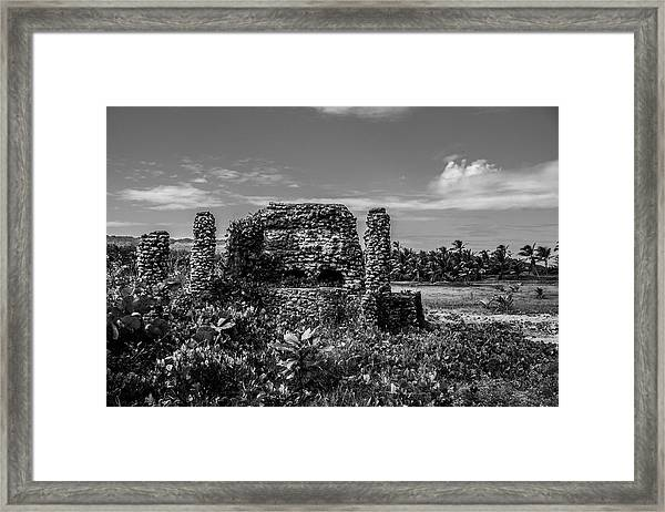 Old Brick Oven Framed Print