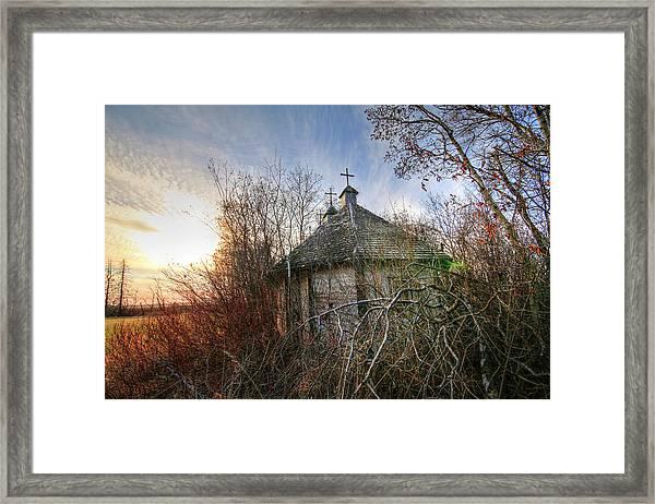 Old Calder Church Framed Print