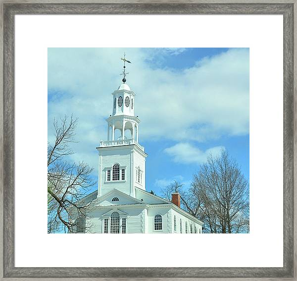 Old First Church Framed Print by JAMART Photography