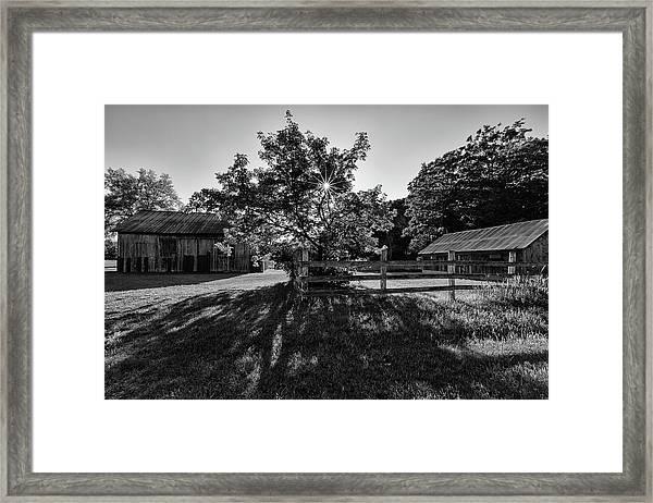 Old Homestead 1 Framed Print