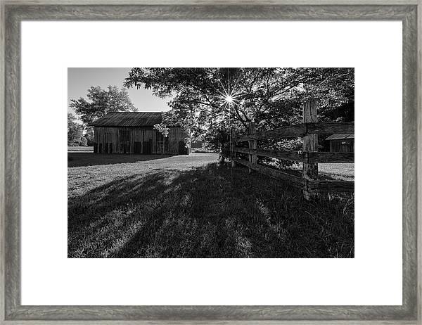 Old Homestead 2 Framed Print