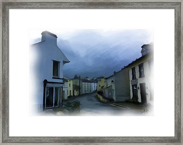 Old Laxey Village 1 Framed Print