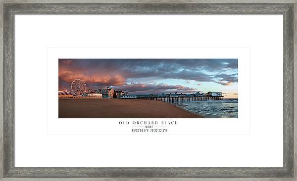 Old Orchard Framed Print by Chad Tracy