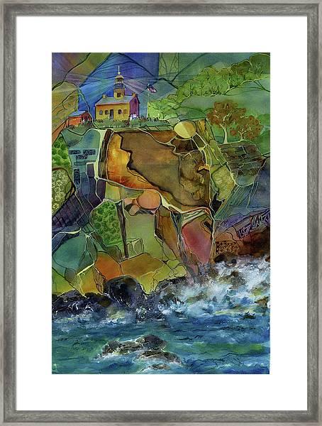 Old Point Loma Lighthouse Framed Print