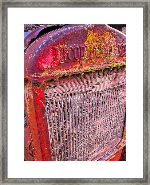 Old Red Framed Print