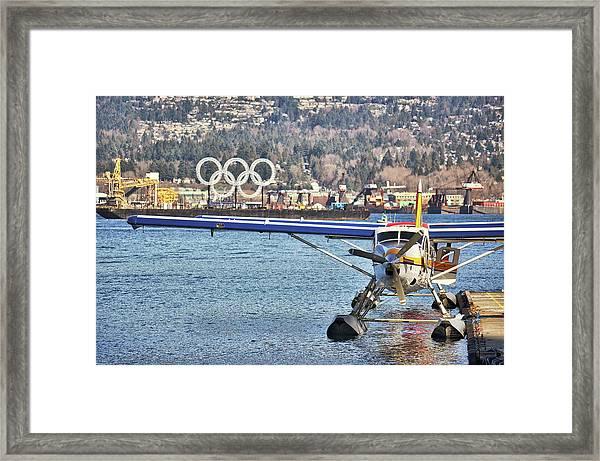 Olympic Rings Framed Print