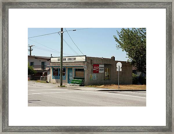 Framed Print featuring the photograph On Gilmore by Juan Contreras