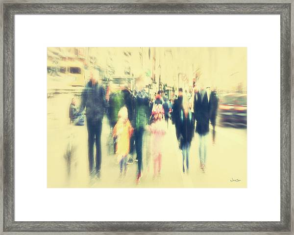 On The Periphery Framed Print by Norma Slack