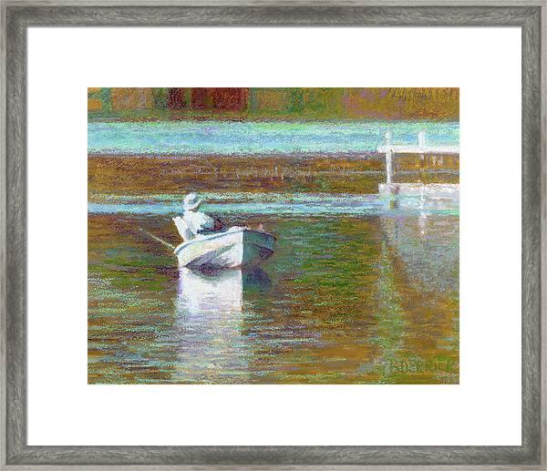 On The Pond Print Framed Print