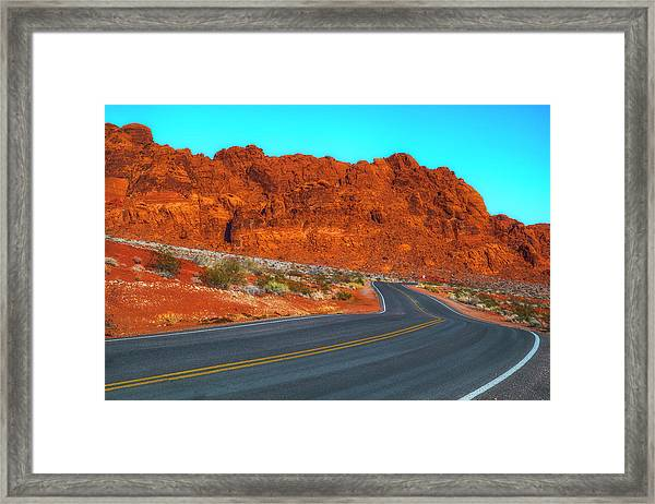On The Road Again Framed Print by Fernando Margolles