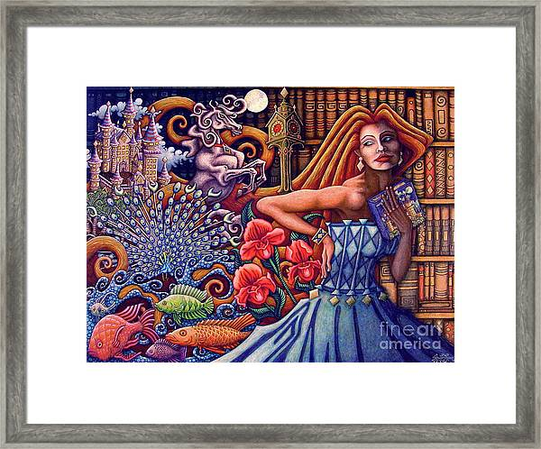Once Upon A Dream... Framed Print
