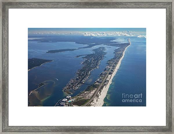 Ono Island-5326 Framed Print