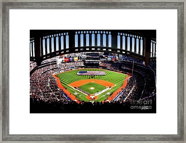 Opening Day Yankee Stadium Framed Print