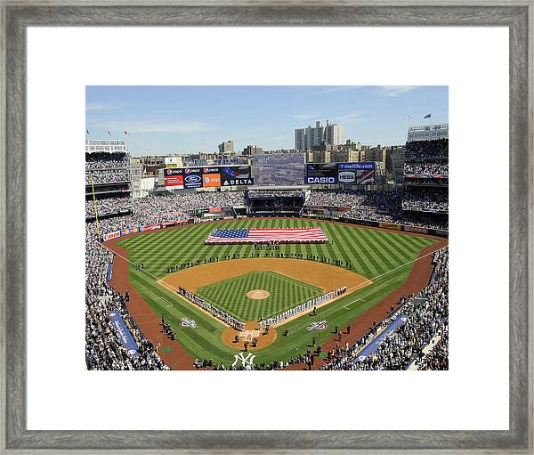 Opening Day Yankee Stadium. New York Framed Print