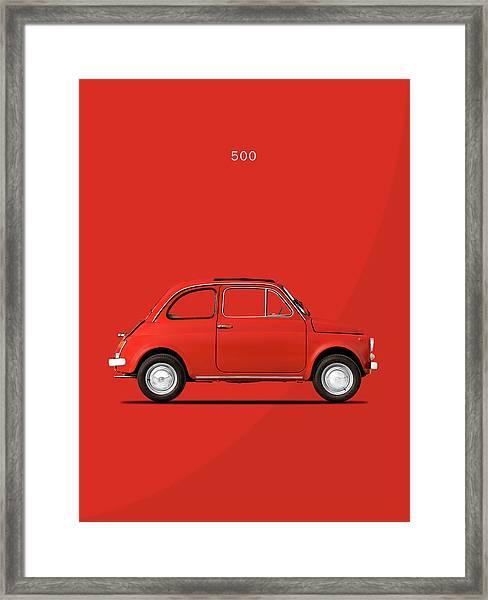 Original 500 Framed Print