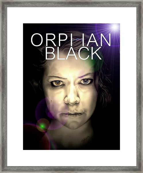 Orphan Black Framed Print