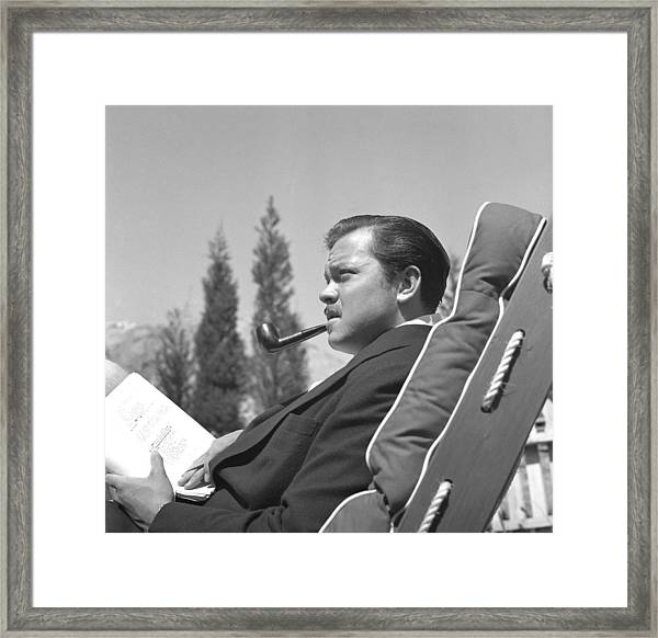 Orson Welles Framed Print by Earl Theisen Collection