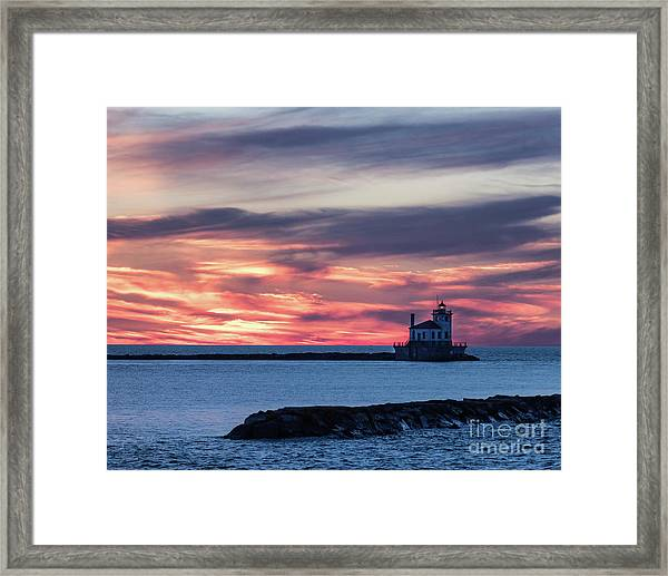 Oswego Light Framed Print