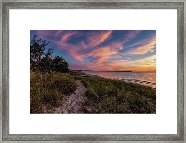 Otter Creek Sunset Framed Print