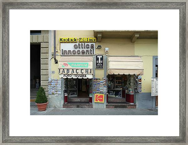 Ottica Innocenti Framed Print