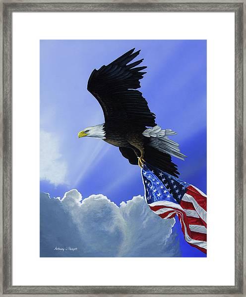 Our Glory Framed Print